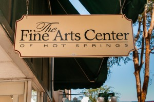 The Fine Arts Center in Hot Springs, Arkansas