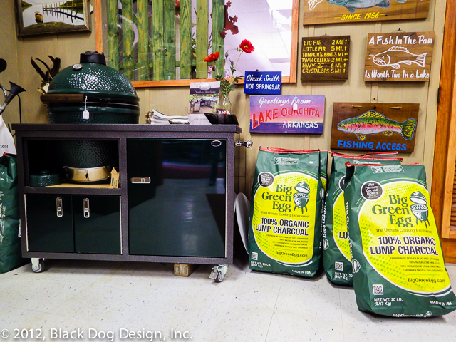 Come by the Store and check out the latest Big Green Egg products, along with numerous items for sale by local artists.