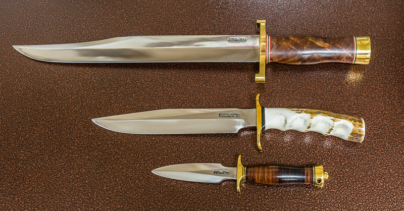 Exquisite Randall Knives at Black Dog Design